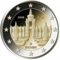 2 Euros Allemagne 2016 Palais de Dresde