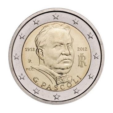 2 Euro ITALIE 2012 Giovanni Pascoli