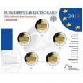 5 x 2 euro BU Allemagne 2019 70 ans du Bundesrat