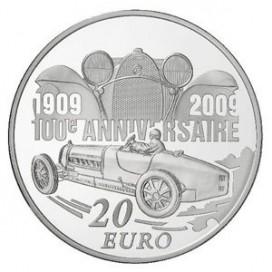 20 Euros Ettore BUGATTI - ARG Piéfort BE 2009