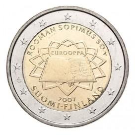 2 Euro FINLANDE 2007 Traité de Rome