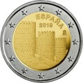 2 Euro Espagne 2019 - Vieille ville d'Avila
