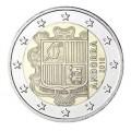 2 Euros Andorre courante 2018