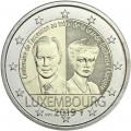 Coincard 2 Euro Luxembourg 2019 100e anniversaire de l'accession au trône de la Grande-Duchesse Charlotte.