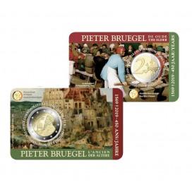 Coincard Flamande 2 Euro Belgique 2019 450 ans de la mort de Pieter Bruegel