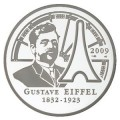 Gustave Eiffel 2009 - 20 Euro ARG Piéfort BE