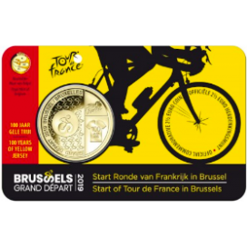 Coincard 2,50 Euro Flamande Belgique 2019 -Tour de France