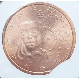 2 Cent France 2017 Fautée