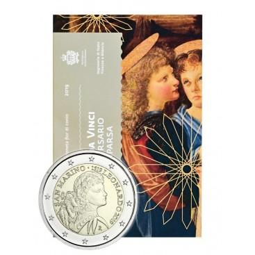 2 Euro Saint Marin 2019 - Leonard de Vinci
