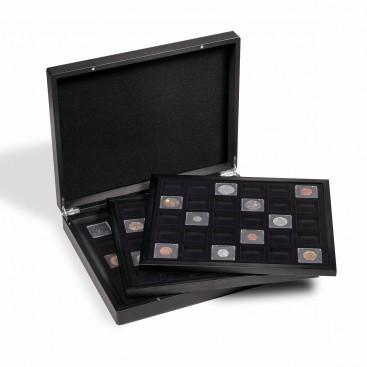 Coffret numismatique VOLTERRA TRIO pour 3x 30 caps.