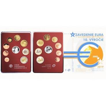 BE SLOVAQUIE 2019 - 10 ans de l'introduction de l'Euro
