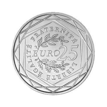 25 Euro Argent 2009