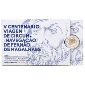 2 Euro Portugal 2019 BE - 500 ans du Tour du Monde de Magellan