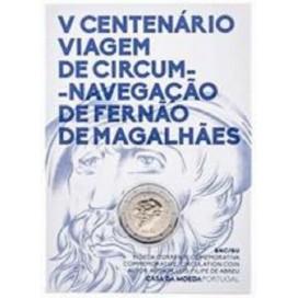 2 Euro Portugal 2019 BU - 500 ans du Tour du Monde de Magellan
