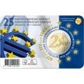 Coincard Flamande 2 Euro Belgique 2019 - 25 ans de l'Institut monétaire européen