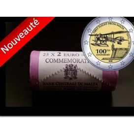 25x2 euro commemorative Malte 2015
