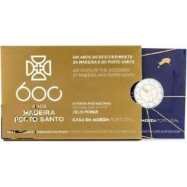 2 Euro Portugal 2019 BE - 600 ans de la découverte de l'île de Madère