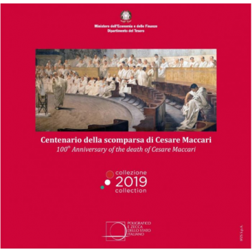 BU ITALIE 2019 10 pièces