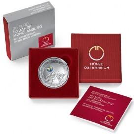 20 Euro Autriche 2019 - 50 ans du 1er Alunissage