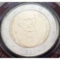 2 EURO SAINT MARIN 2004 Borghesi