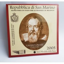 2 EURO SAINT MARIN 2005 Année de la Physique