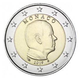 2 Euro Monaco Albert 2019