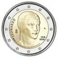 2 Euro Italie 2019 - Léonard de Vinci