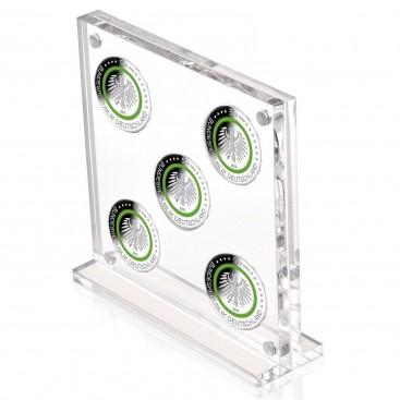 Etuis Plexiglass pour 5 x 5 euro Allemagne