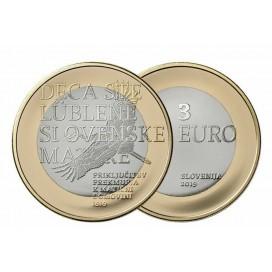 3 euro Slovénie 2019