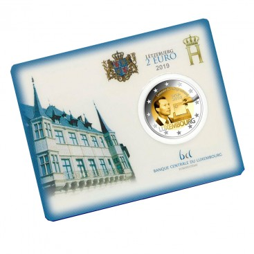 Coincard 2 Euro Luxembourg 2019 - Suffrage Universel
