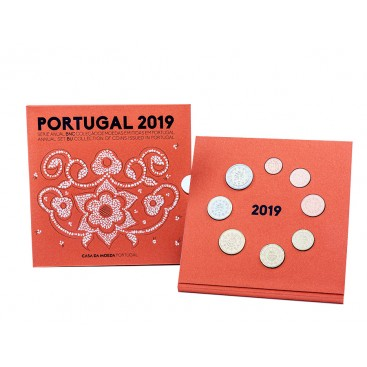 Coffret BU Portugal 2019 Set Annuel
