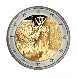 5 x 2 euro Allemagne 2019 Mur de Berlin