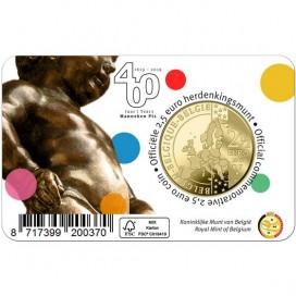 Coincard Francaise 2,50 Euro Belgique 2019 - Manneken Pis