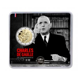 2 Euro France 2020 BU - Charles de Gaulles