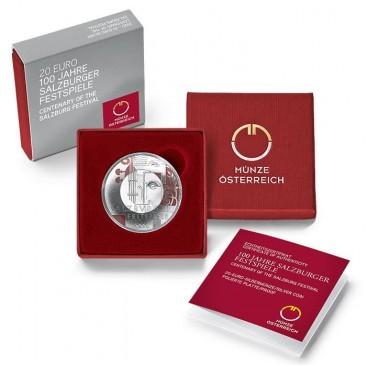 20 Euro Autriche 2020 - Festival de Salzbourg
