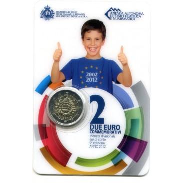 2 Euro SAINT MARIN 2012