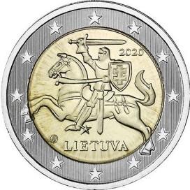 2 Euro Lituanie 2020 Courante