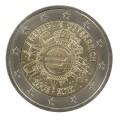 """2 Euro """"10 ans de l'euro"""" Autriche 2012"""