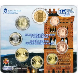 Coffret BU Espagne 2020 World Money Fair