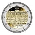 5 x 2 euro Brillant universel BU Allemagne 2020 - Palais de Sanssouci.