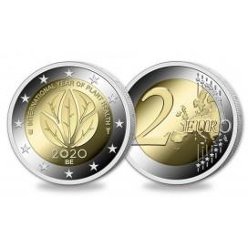 2 Euro Belgique 2020 UNC Santé des plantes