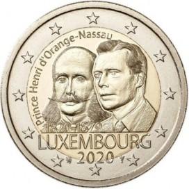 2 Euro Luxembourg 2020 200e anniversaire de la naissance du Prince Henri