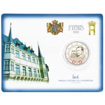 Coincard 2 Euro Luxembourg 2020 -200 e anniversaire de la naissance du Prince Henri