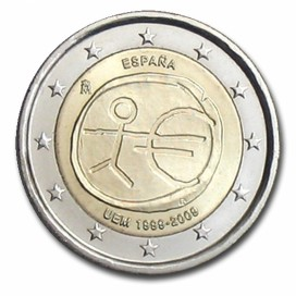 2 Euro EMU Espagne 2009