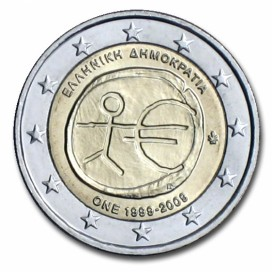2 Euro EMU Grèce 2009