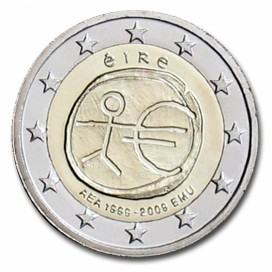 2 Euro EMU Irlande 2009