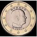 1 euro albert II 2007