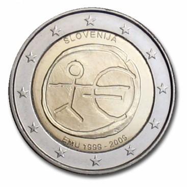 2 Euro EMU Slovénie 2009