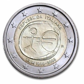 2 Euro EMU italie 2009