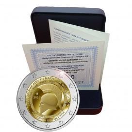 2 Euro BE Grèce 2020 - 2500 ANS DE LA BATAILLE DES THERMOPYLES